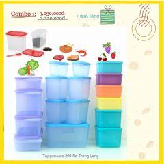 Hộp bảo quản thực phẩm thương hiệu Mỹ - Tupperware No Trang Long